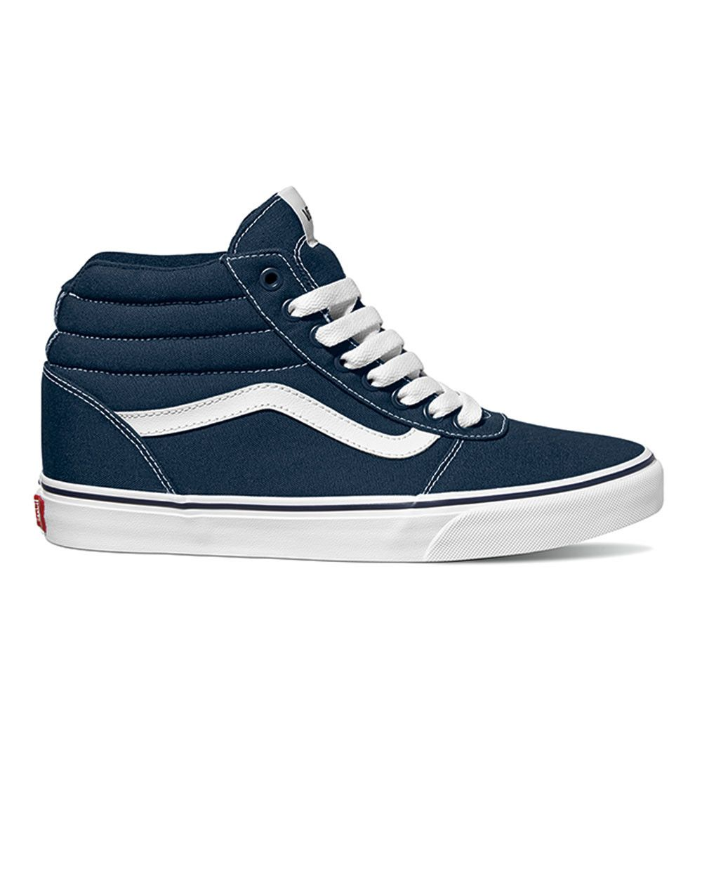 Vans Ward Hi (dress blue white). Available in size 13-15.  size13  size14   size15  bigfeet  bigshoes  bigtrainers  vans  footwear  tall  tallmen   ... ce544f714