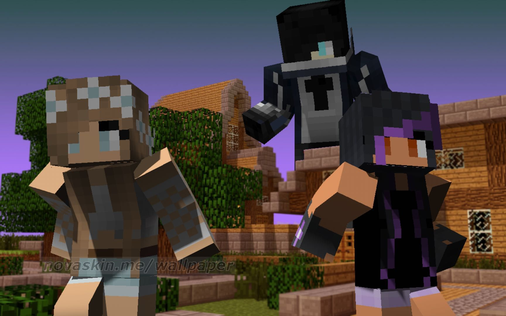 THE PICTURES OF ME AND MC DIARIES ME AND APHMAU AND ZANE