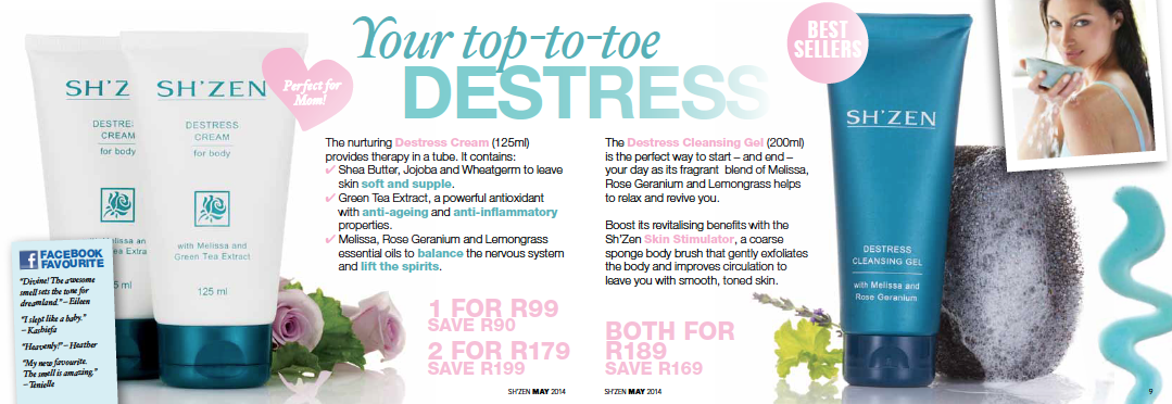 Your top-to-toe destress