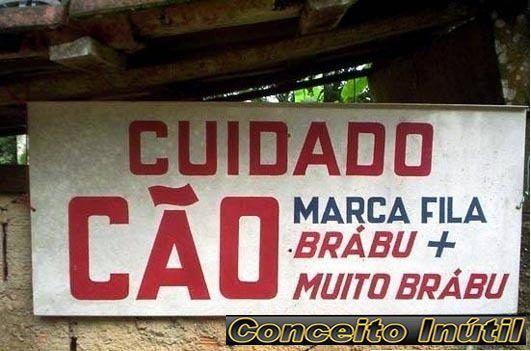 Placas engraçadas pelo Brasil  2a26075ceafb8