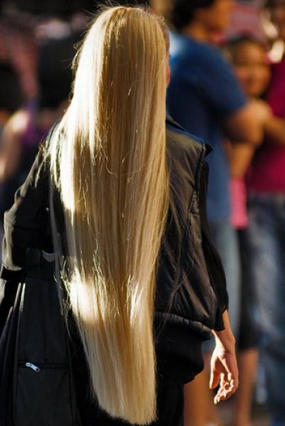 Girls Through The History With Unusually Long Hair Long Hair