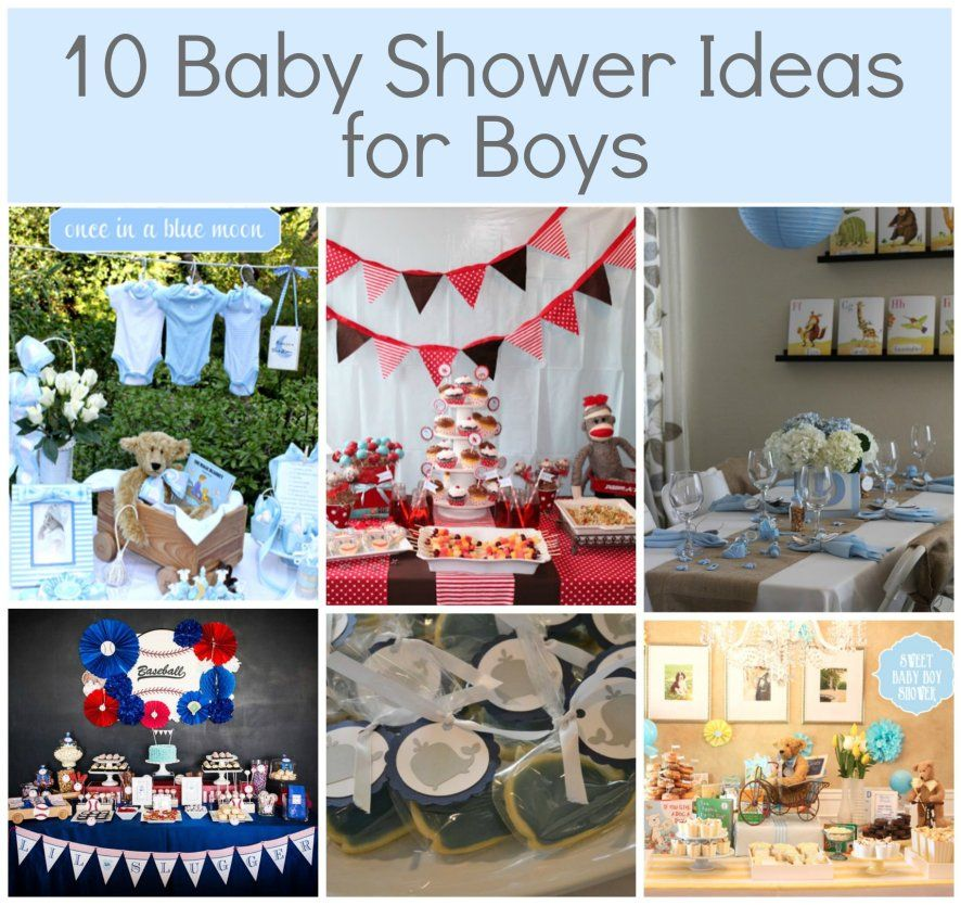 Baby Boy Shower Ideas I Like The Table Setting With Brown