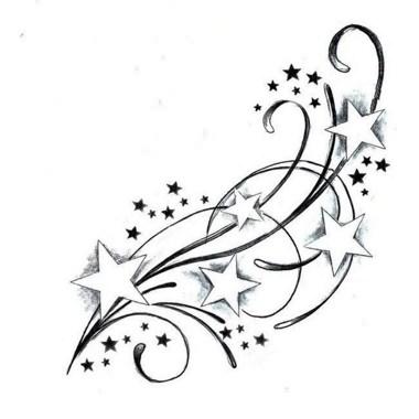 Tatouage Etoiles Avec Decoration Moi
