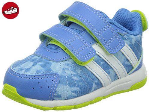 adidas Snice 3, Unisex Baby Lauflernschuhe, Blau (Lucky Blue S15/Ftwr White/Semi Solar Yellow), 23 EU