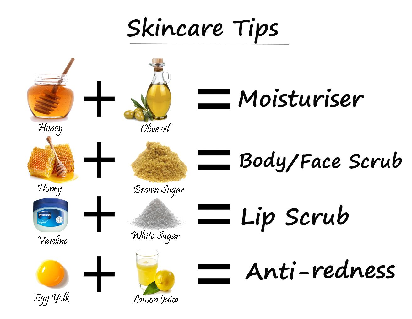 Natural homemade skin care tips. | Homemade skin care ...