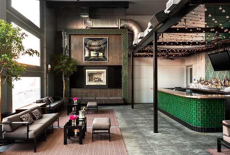 Terrace at Lulu\'s Lounge---W HOBOKEN   W Hotel   Pinterest ...