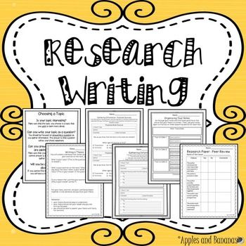Research Writing  Worksheets Rubrics Activities Inb  Graphic