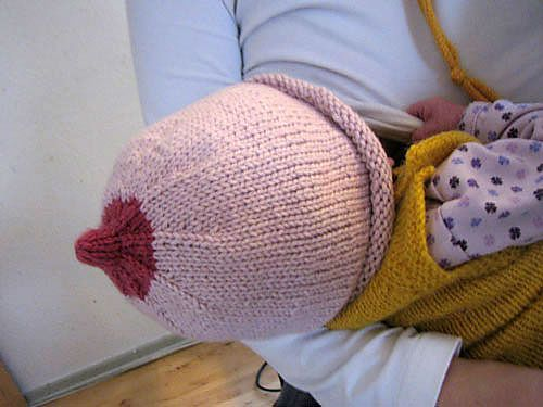 Ravelry  The Breast Beanie or Boob Hat ! This knitted pattern - free from  Ravelry - rocks! 1b44ff916310