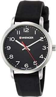 Wenger Watch 01 Children Silicone Strap 1621 With Analogue Quartz 45Rj3ALq