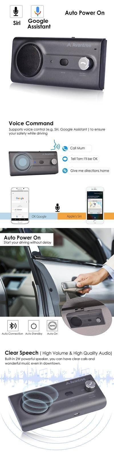 Car Speakerphones 88468: 2018 Avantree Ck11 Bluetooth Hands