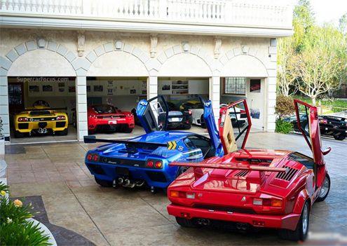 Luxury garage of super car at California | Car News - Supercar News | Esupercarnews.com