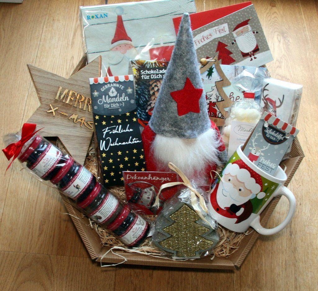Weihnachten Geschenke Geschenkkorb / Präsentkorb
