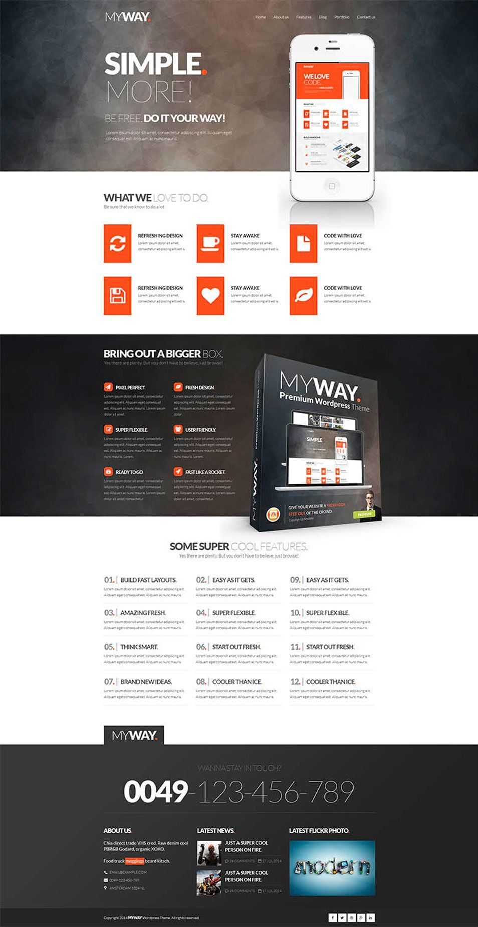 Free Corporate And Business Web Templates Psd Com Imagens