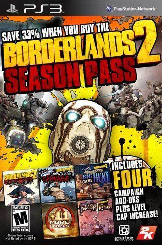 Borderlands 2: Season Pass - PS3 [Digital Code] [Digital