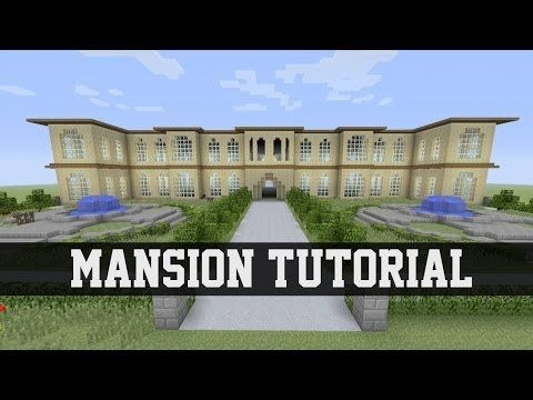 Mansion Tutorial   Minecraft  1  Xbox 360 Xbox One PS3 PS4. Mansion Tutorial   Minecraft  1  Xbox 360 Xbox One PS3 PS4 PE PC