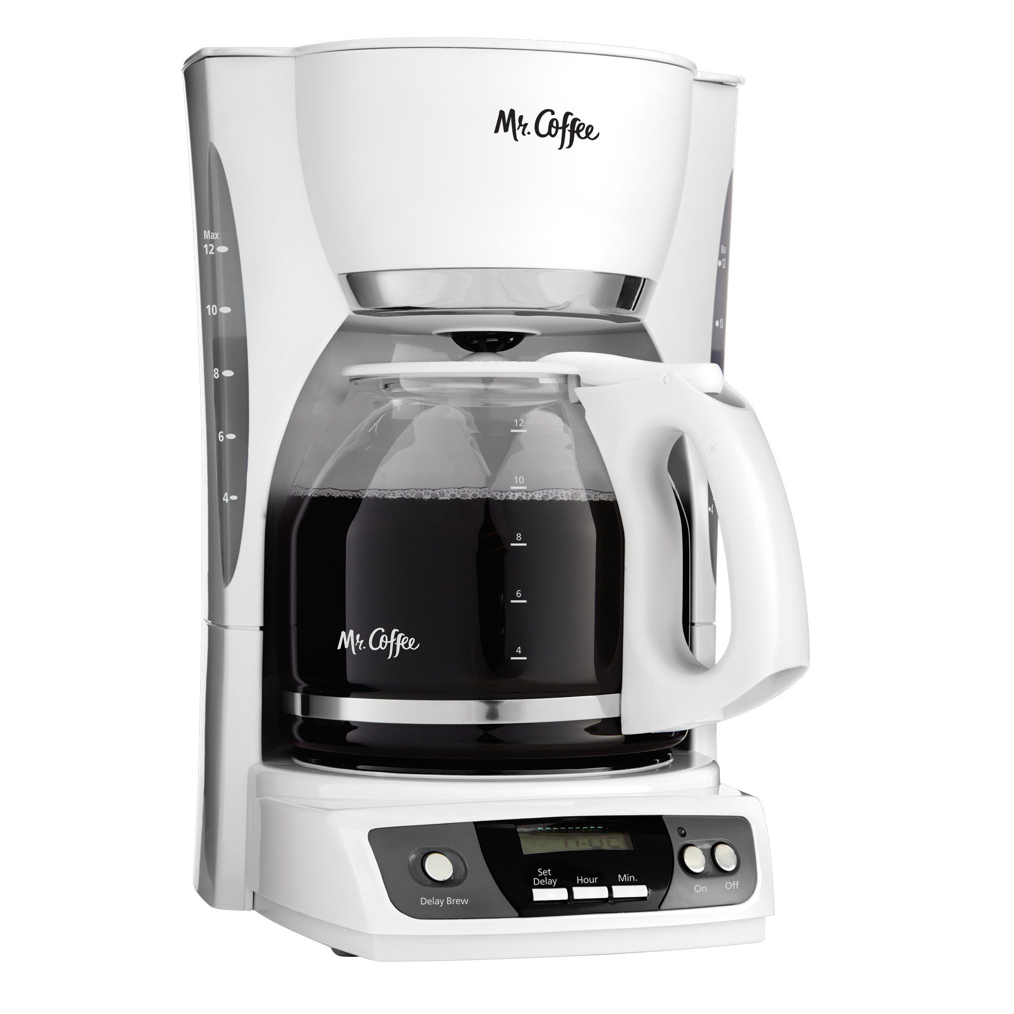 Mr. Coffee CGX20NP 12Cup Programmable Coffeemaker White