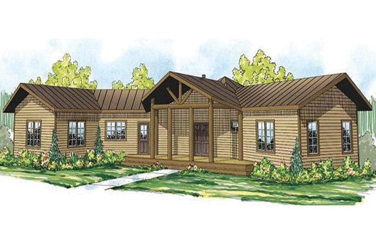 House Plan 402 01513 Craftsman Plan 1 676 Square Feet 2 Bedrooms 2 5 Bathrooms Ranch Style House Plans Lodge Style House Plans Craftsman Style House Plans