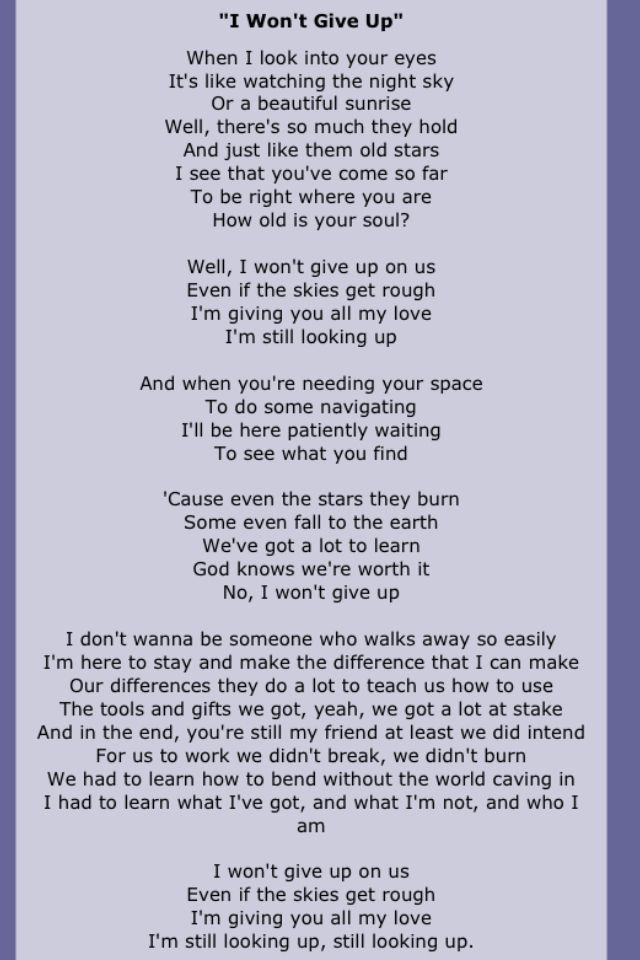 This song is very special to me ♥ | So true!! Love it ...