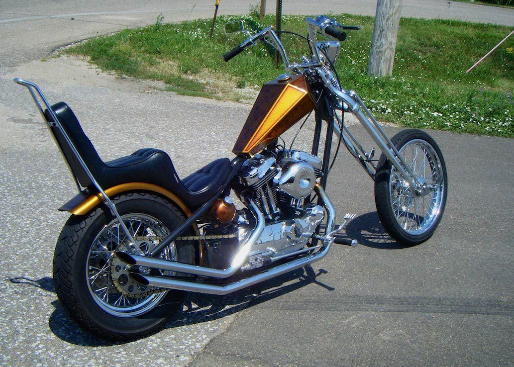 harley davidson sportster rigid hardtail chopper bobber ...