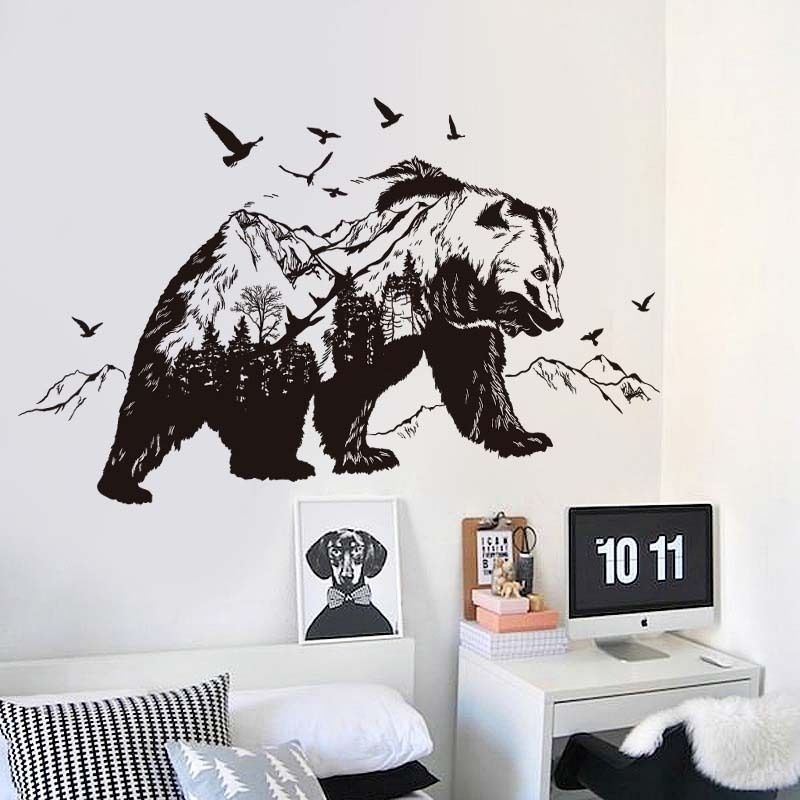 Pin On Home Ideas Bear decor for living room