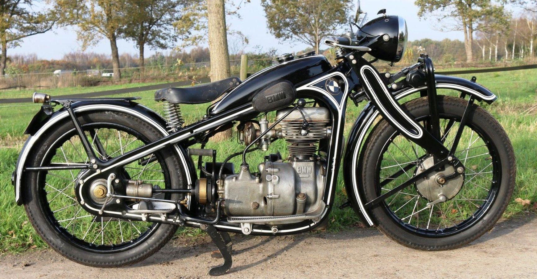 Bmw R2 Year 1935 In Nice Restored Condition Good Runner Bmw