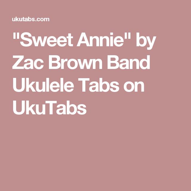 Sweet Annie\