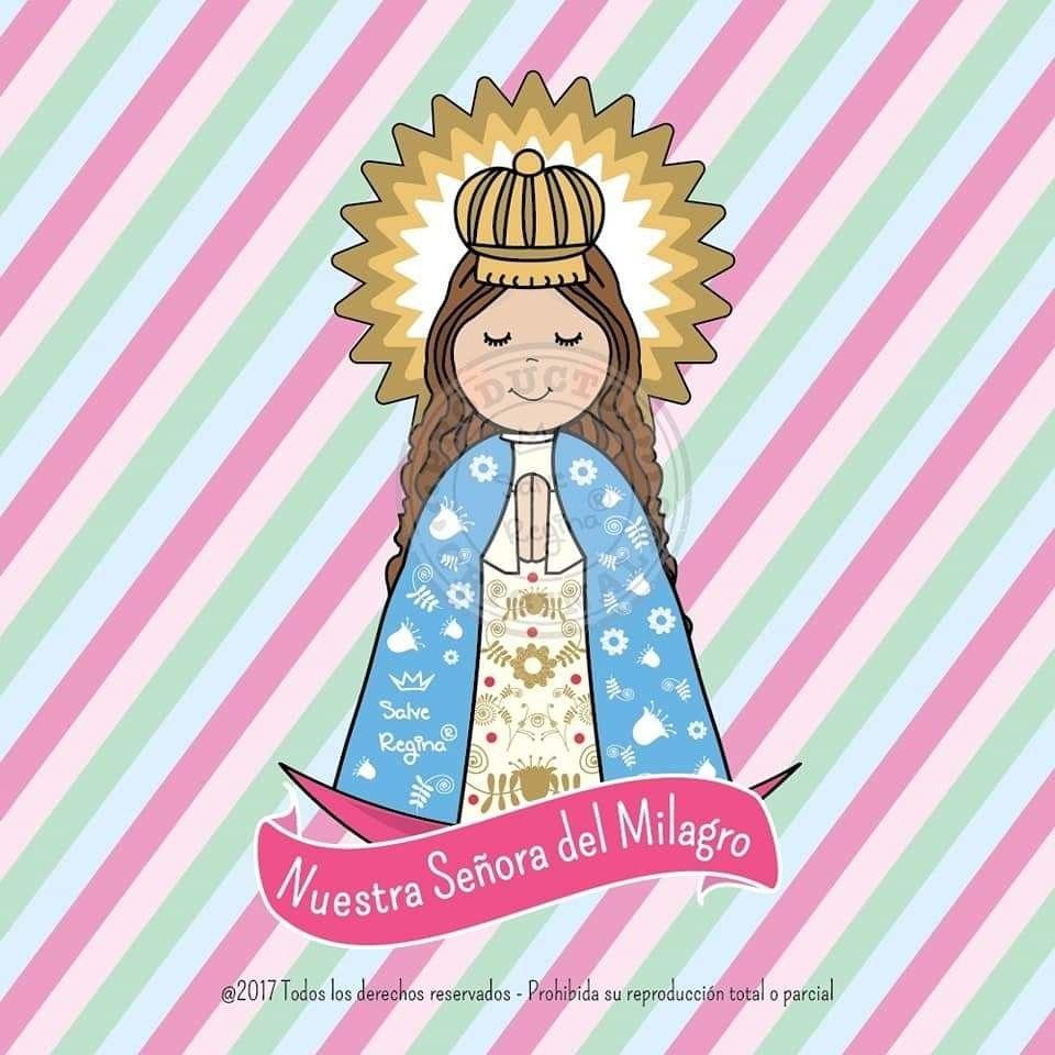 Pin De José Maria Pozo Dominguez En Virgen Maria Virgen Caricatura Milagros Santoral