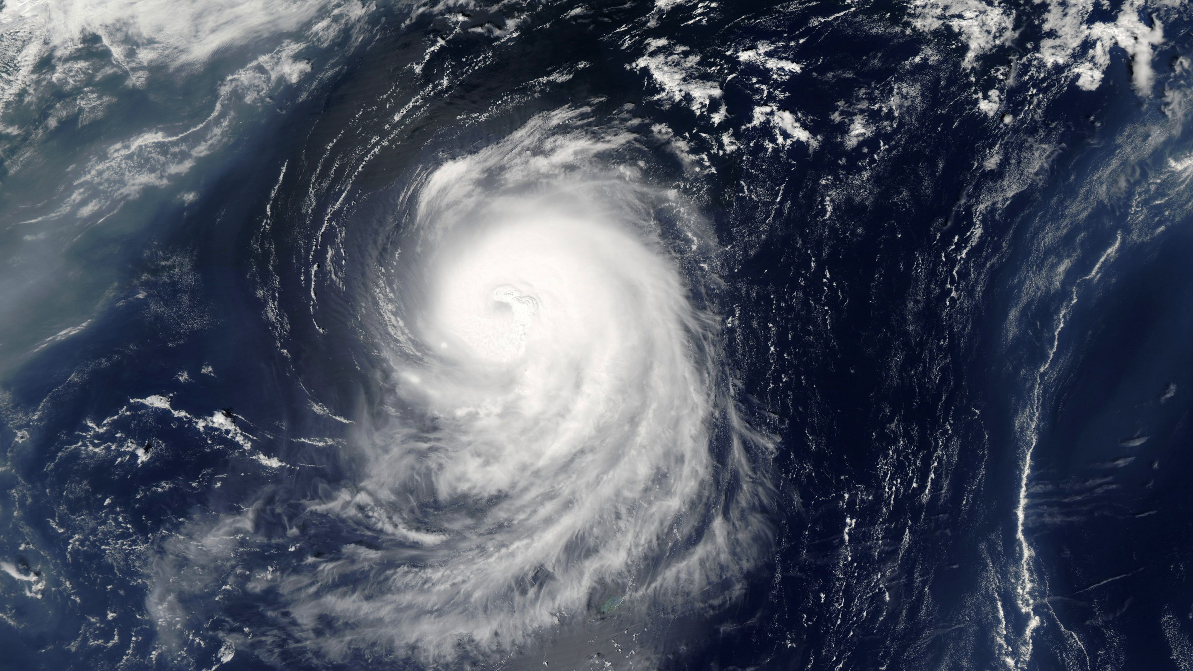 Hurricane Spinning In Ocean From Satellite From Above Eye Of A Large Typhoon Stock Footage Ocean Satellite Hurricane Spinning Hurricane Irene Ocean Hurricane