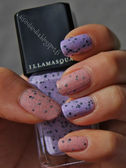 #illamasqua #scarce #speckle #nailpolish #glitter