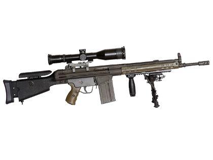 Gewehr g mit zielfernrohr prepping diy