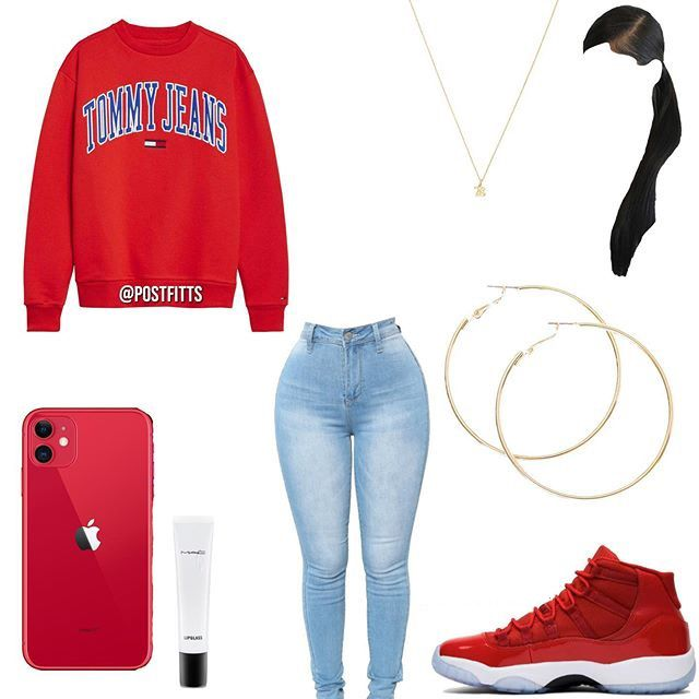 School outfits for Girl in fall with Jeans - Cocomew is to share cute outfits and sweet funny things #baddieoutfitsforschool