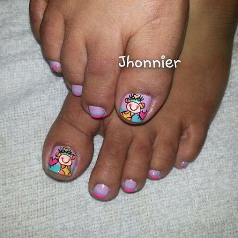 Angie Masglooficial Nails Uñas Decorados Esmalte Casual