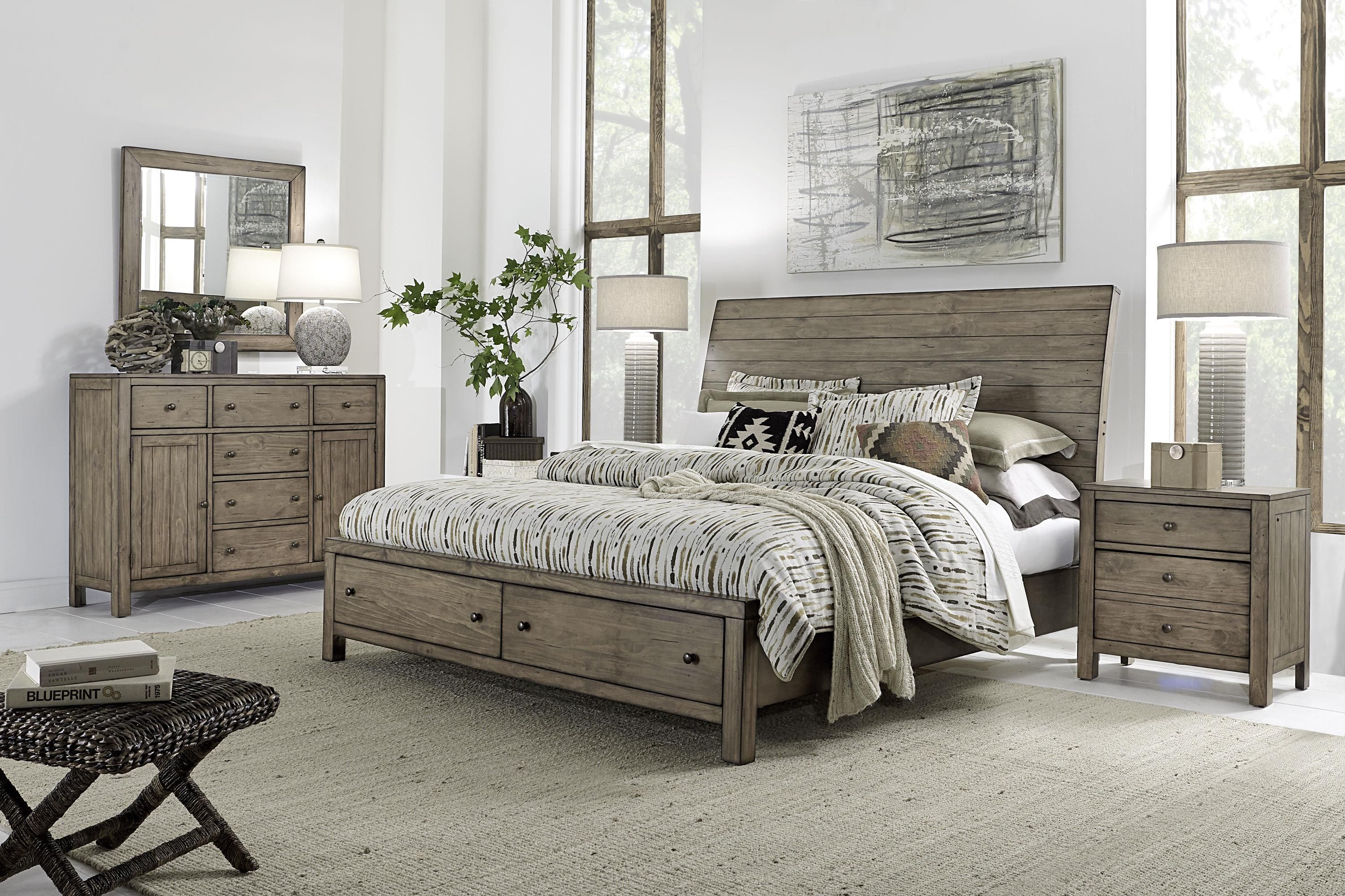 Aspenhome Tildon King Bedroom Group Becker Furniture World