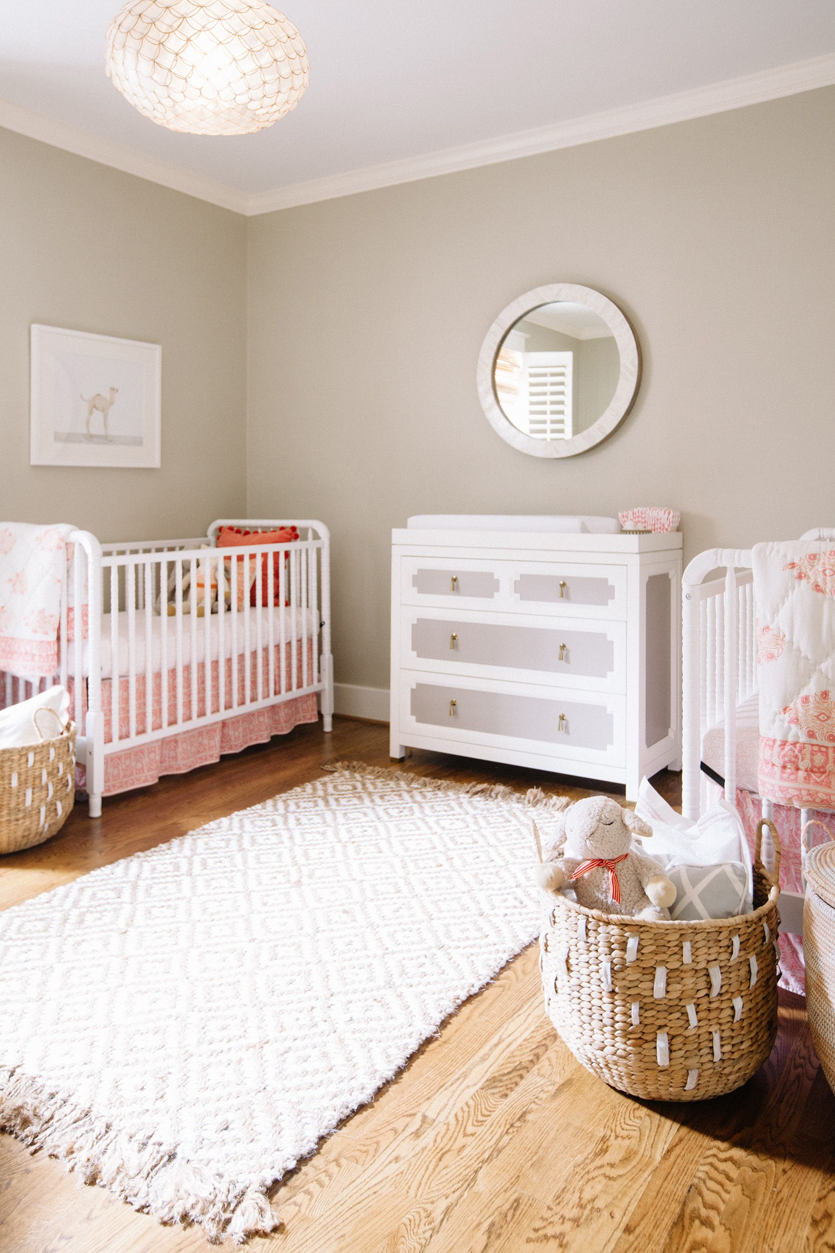 Twin Baby Room Ideas Boxwood Clippings_Neutral Twin Nursery  Favorite Lil' Luna Team