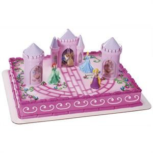 Disney Princess Castle Cake Kit with turrets Decopac Licensed