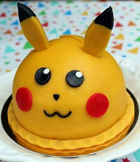Pikachu Pokemon-taart van Fratelli in Oosterbeek