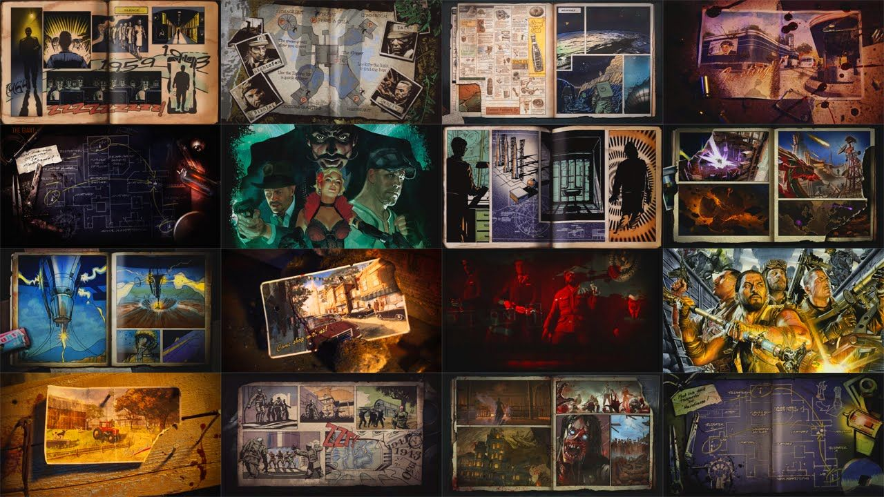 All 20 Loading Screens In Black Ops 3 / 2 + The Giant / Possible New Moo...