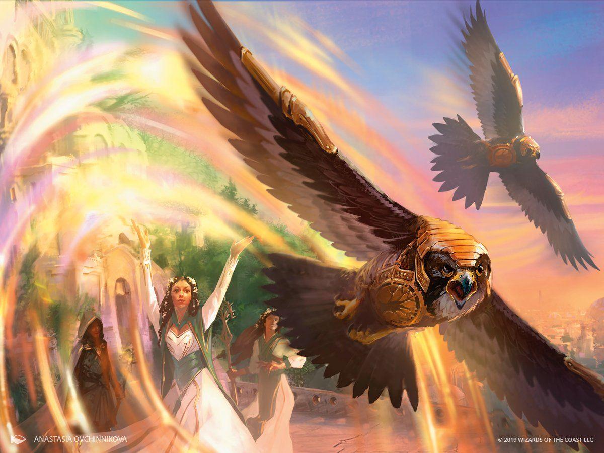 Battle Screech - Modern Horizons MtG Art | Mtg art, Magic art, Art