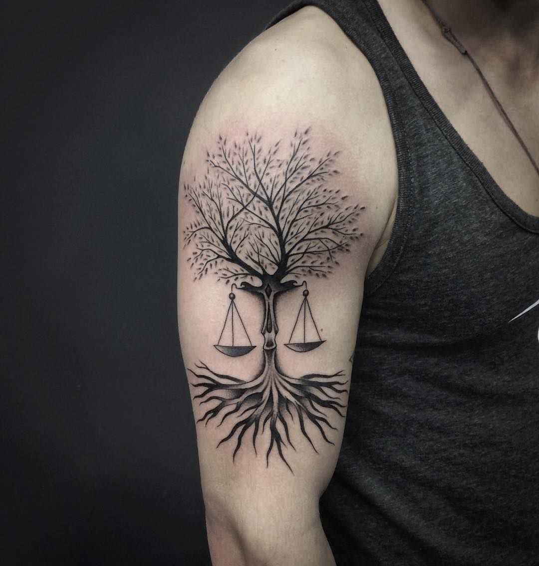 75 extraordinary libra tattoo - designs & meaning check more at