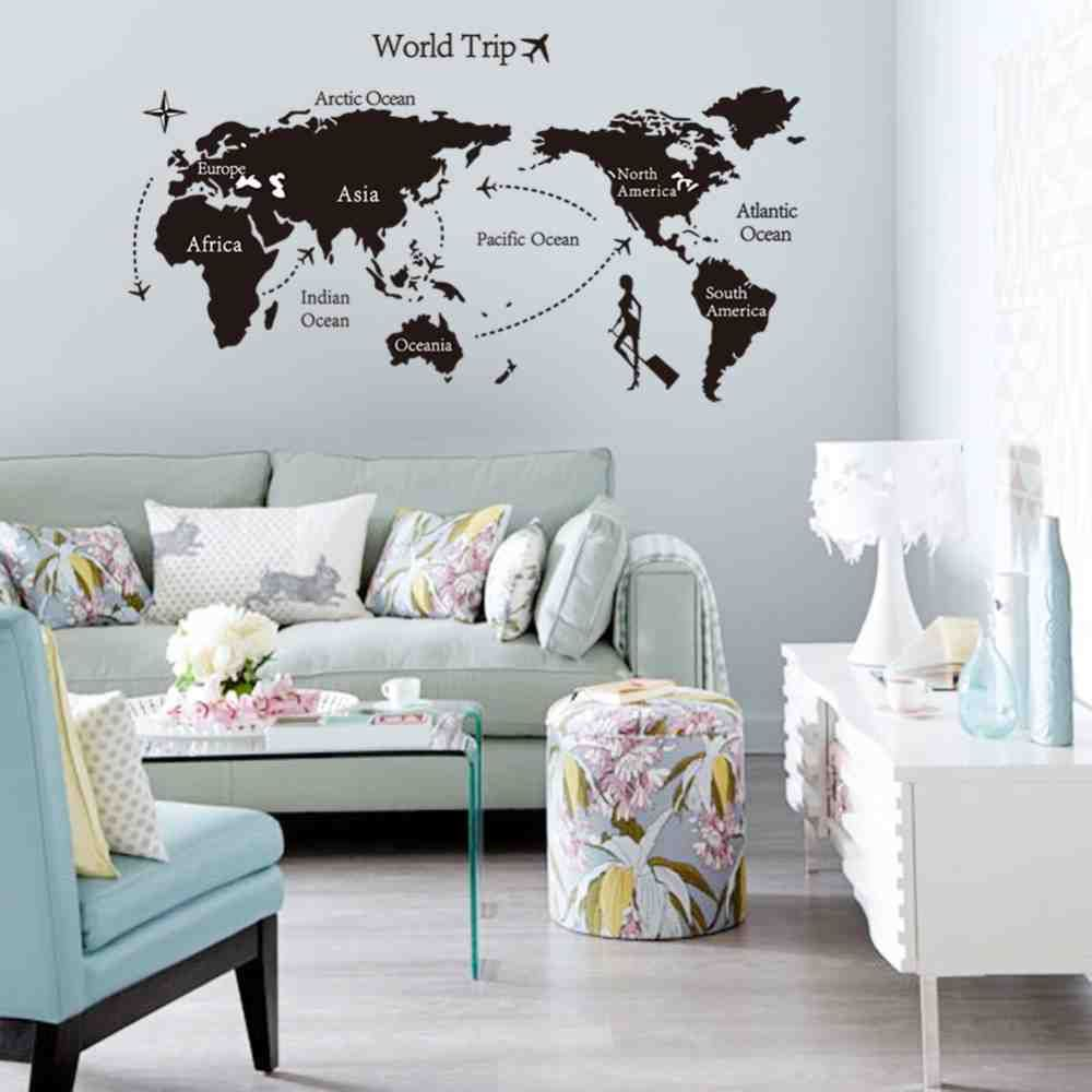 Large Wall Stickers for Living Room | living room wall decor ...