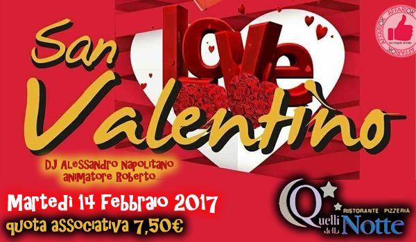 San Valentino Love Da Quelli Della Notte http://affariok.blogspot.it/