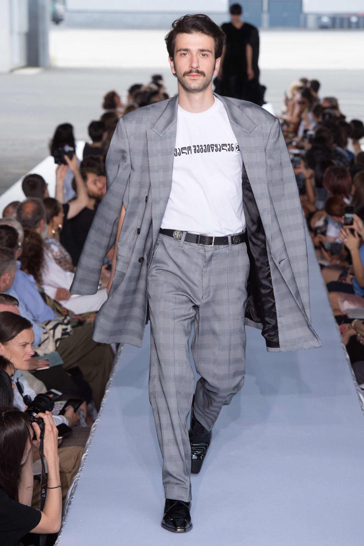 Vetements Spring 2019 Menswear Fashion Show | Stylish mens ...