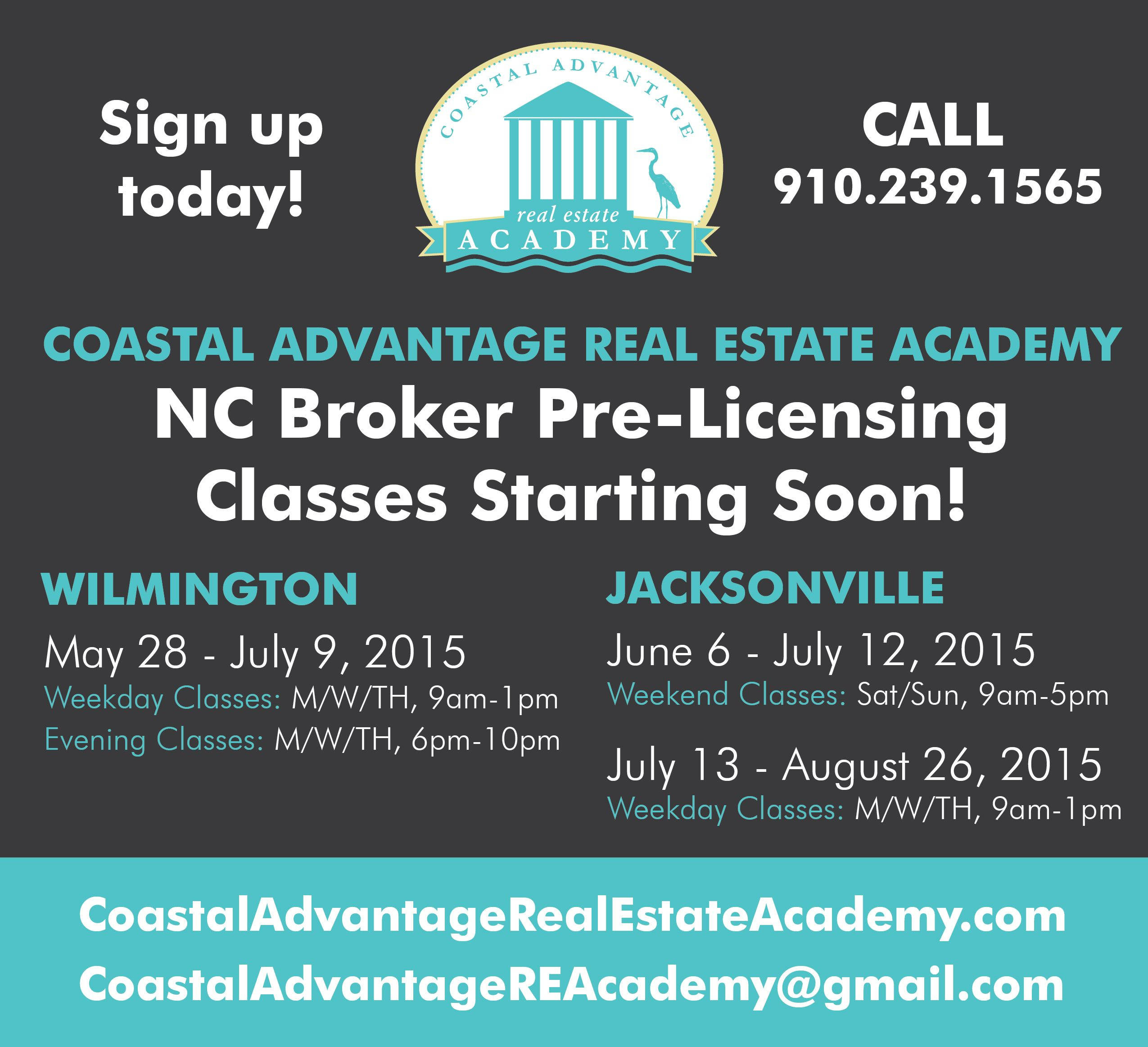 Real Estate Classes Start This Thursday Day Or Evening Courses