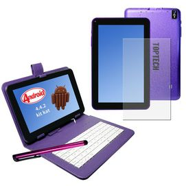 """TOP TECH™ AUDIO 9"""" Tablet PC with 5 Point Touch Screen"""