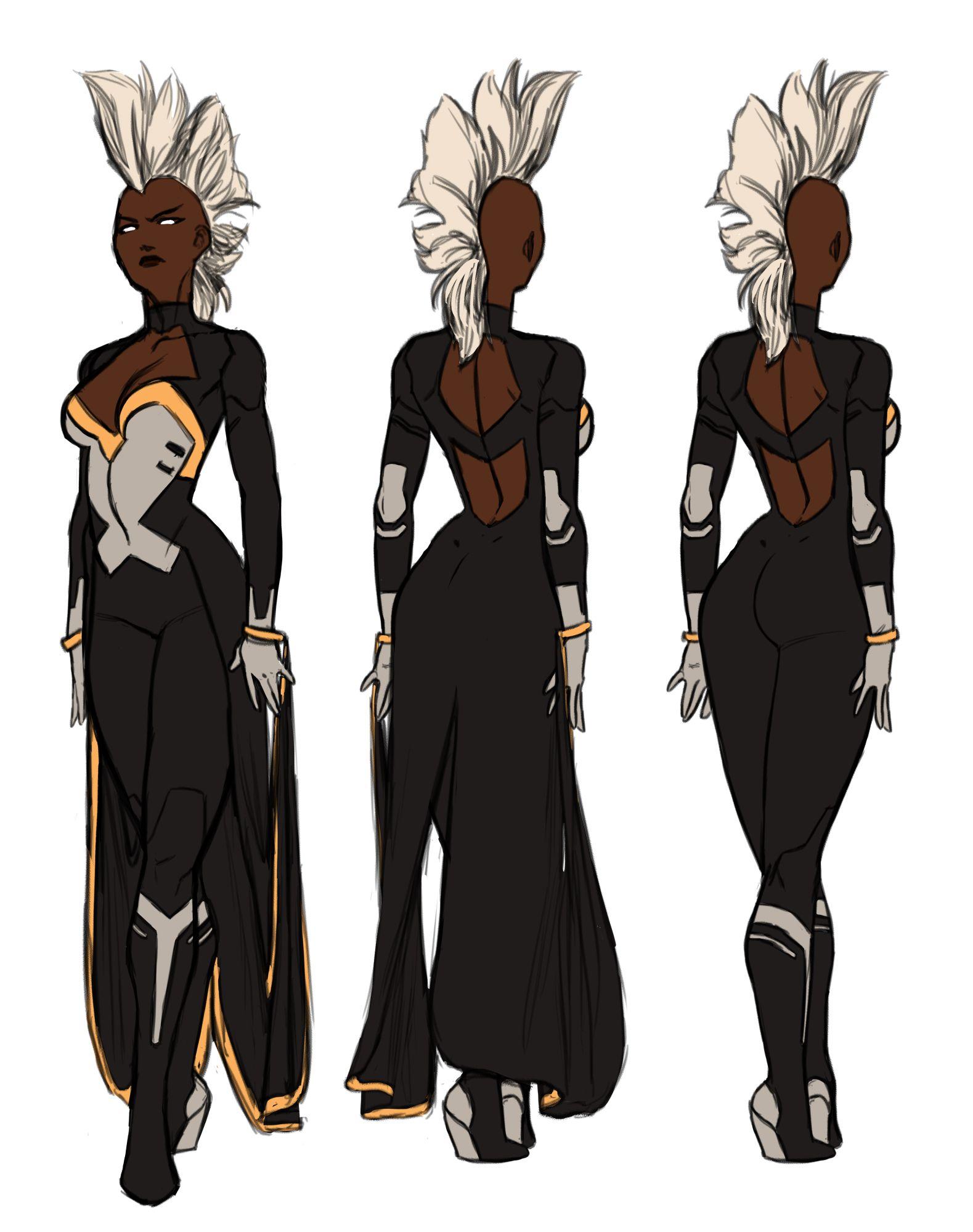 Uncanny X Force Vol 2 Storm By Kristafer Anka Character Design Superhero Comic Artist