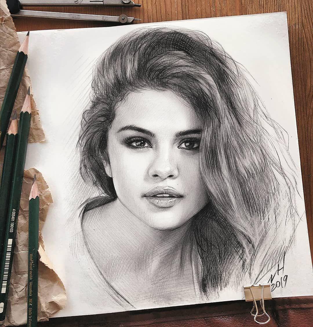 Graphite Pencil Portrait Portrait Drawing Portrait from | Etsy