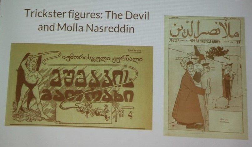 Zeitschrift Molla Nasraddin Book Cover Oskar History