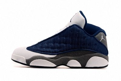 san francisco 89290 acff8 Cheap 2018 Air Jordan 13 XIII Flints French Blue University Blue Flint Grey