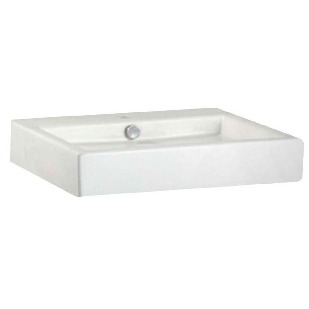 American Standard Studio Vessel Sink In White Small