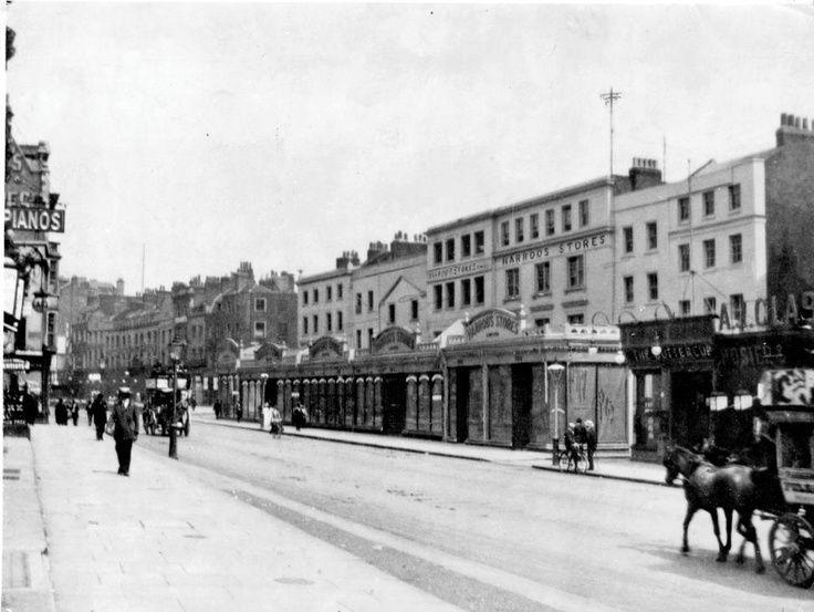 Knightsbridge Old London Vintage Street Sign Harrods Hyde Park Road Sign